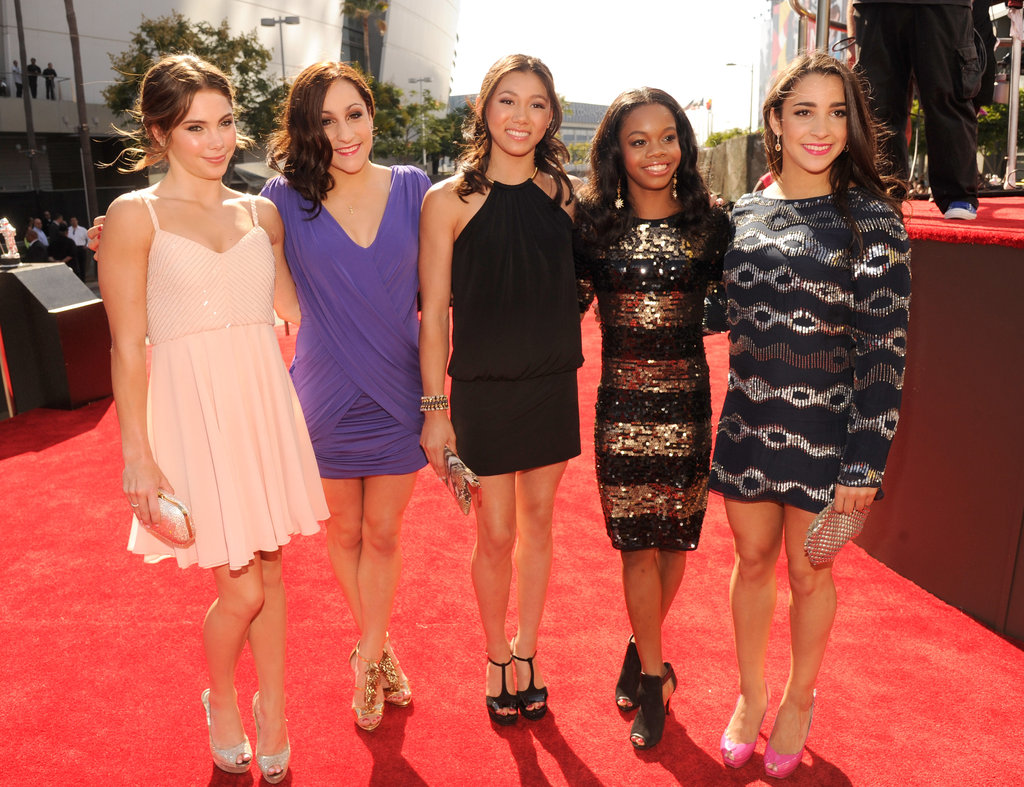 The Fab Five hit the red carpet.