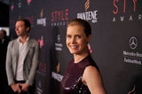 Amy Adams smiled at the Style Awards.