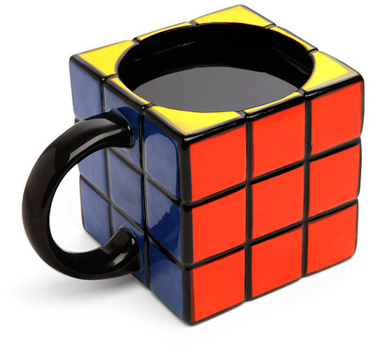 Rubik&#039;s Cube Mug ($13)