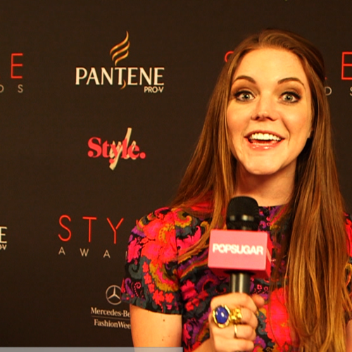 Designer Interviews at 2012 Style Awards (Video)