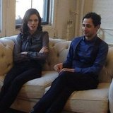 Coco Rocha and Zac Posen had a serious talk. Source: Instagram user styledotcomjessica