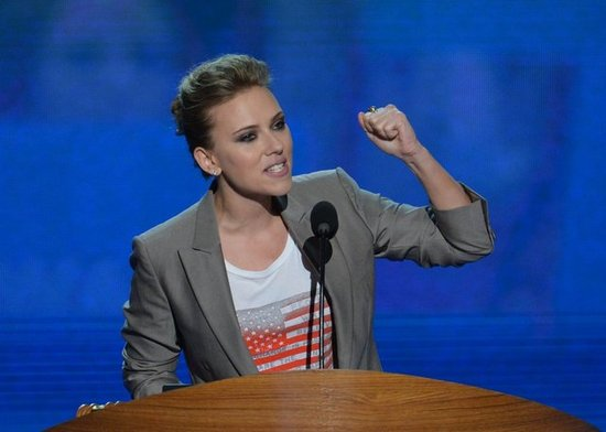 Scarlett Johansson Shines Her Star Power on Social Programs