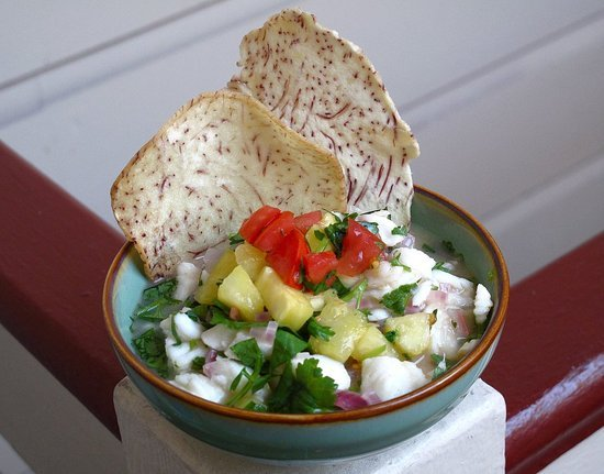 Hawaiian Halibut Ceviche