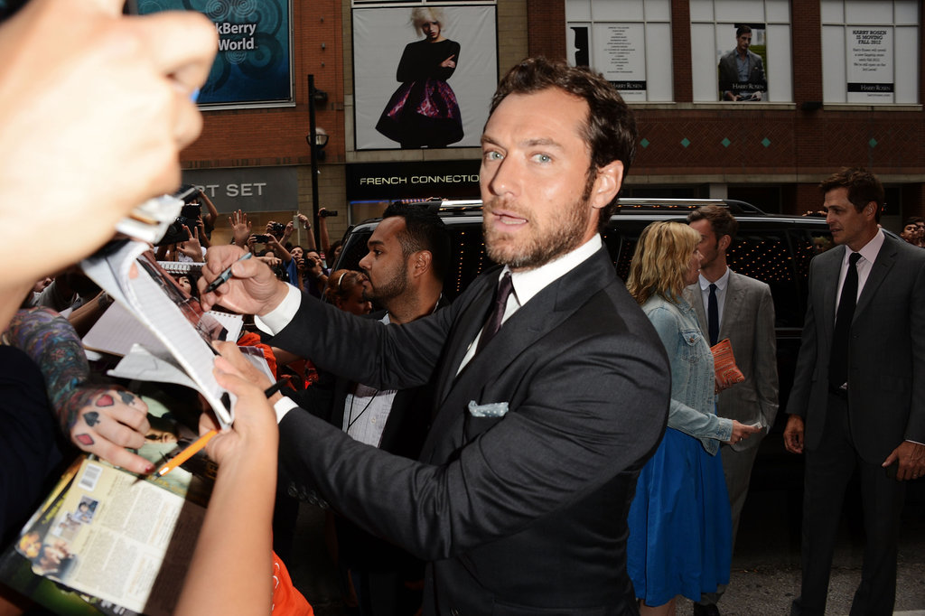 TIFF on the Scene: Keira and Jude Blow Fans Away With Anna Karenina