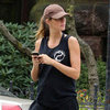 Pregnant Gisele Bundchen Working Out in Boston | Pictures