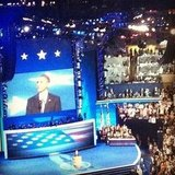 Obama accepted the nomination.