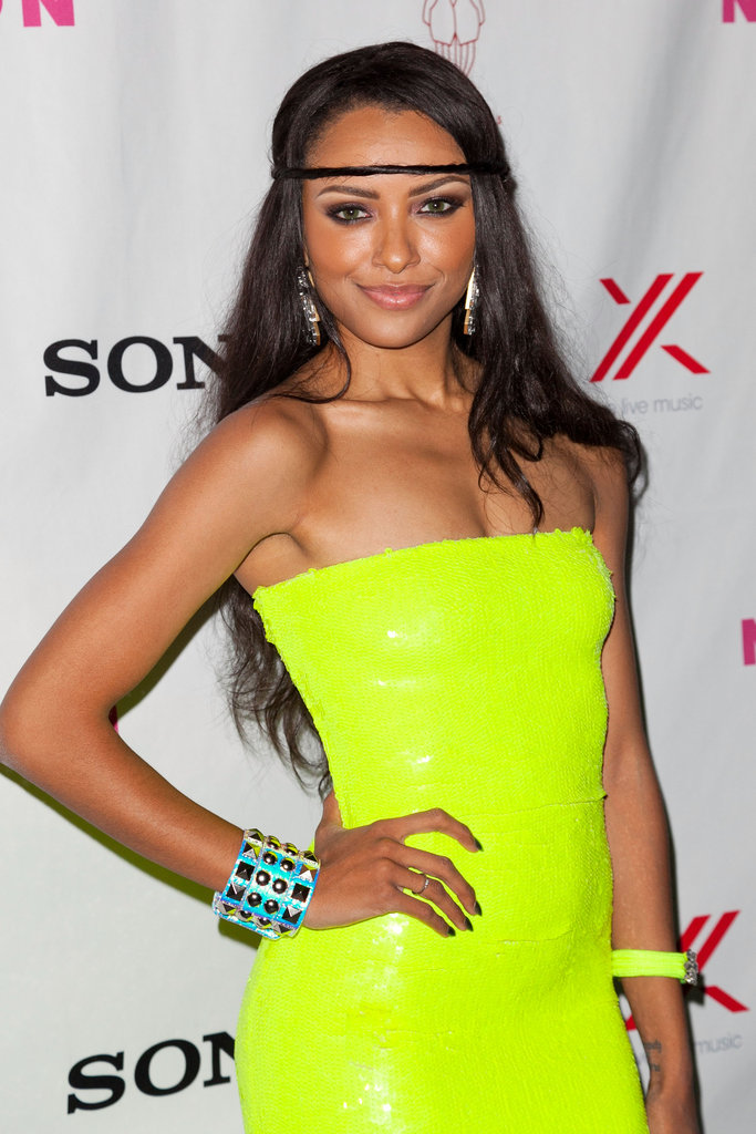 Kat Graham of The Vampire Diaries was in attendance.