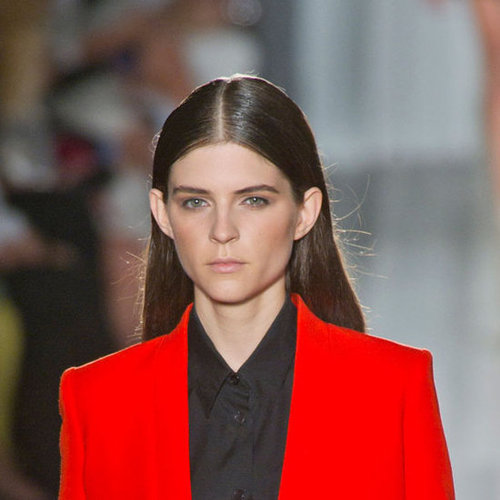 Victoria Beckham Spring 2013 Hair and Makeup