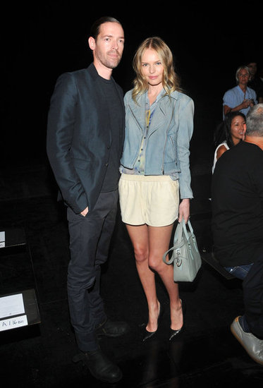 Kate Bosworth Gets Front-Row Treatment With Her Fiancé