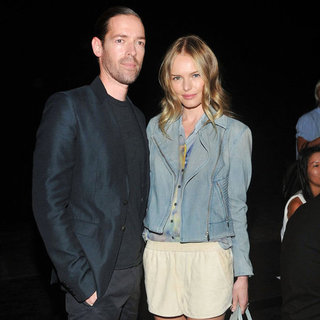 Kate Bosworth And Michael Polish At 2012 New York Fashion Week