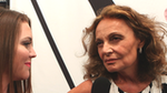 "DVF's Spring Collection Brings Her Back to Her ""Princess"" Days in Rome"