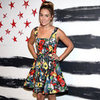 Lauren Conrad Wearing Floral Dress at New York Fashion Week