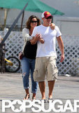 Nick Lachey and Vanessa Minnillo Have Breakfast While on Baby Watch