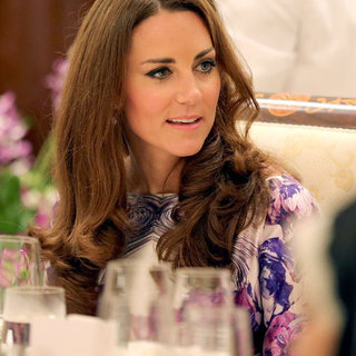 Prince William Kate Middleton at Singapore Dinner Pictures