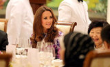 Kate Middleton sat at the table with Mary Tan.