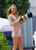 Angels Candice Swanepoel and Erin Heatherton Team Up on a Bikini Shoot