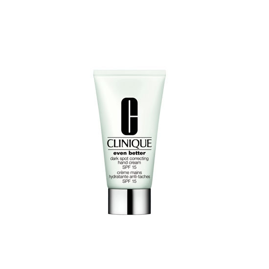 Clinique Even Better Dark Spot Correcting Hand Cream SPF15+, $60