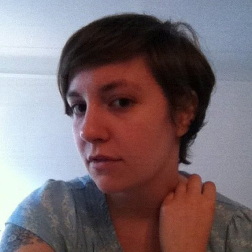 Picture of Lena Dunham's New Pixie Hair Cut