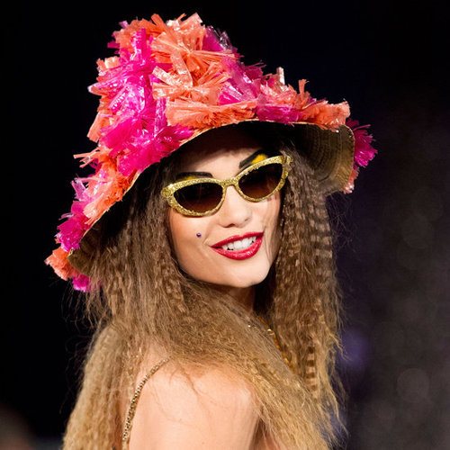 Photos of the Hair and Makeup Look at Betsey Johnson Spring Summer 2013 New York Fashion Week