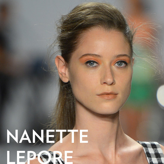 This High-Textured Ponytail at Nanette Lepore Is DIY-Friendly