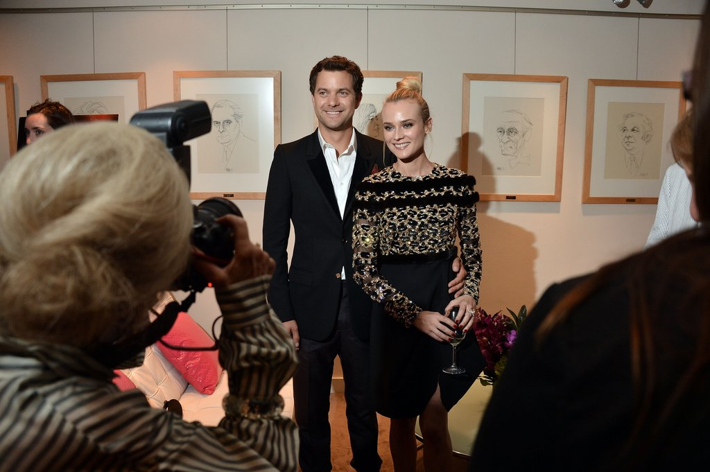 Joshua Jackson had his arm around Diane Kruger at the Inescapable premiere at the Toronto International Film Festival.