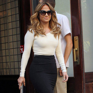 Jennifer Lopez on Katie Couric Show | Pictures