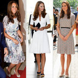 Kate Middleton Switches It Up — Three Chic Ways — in Singapore