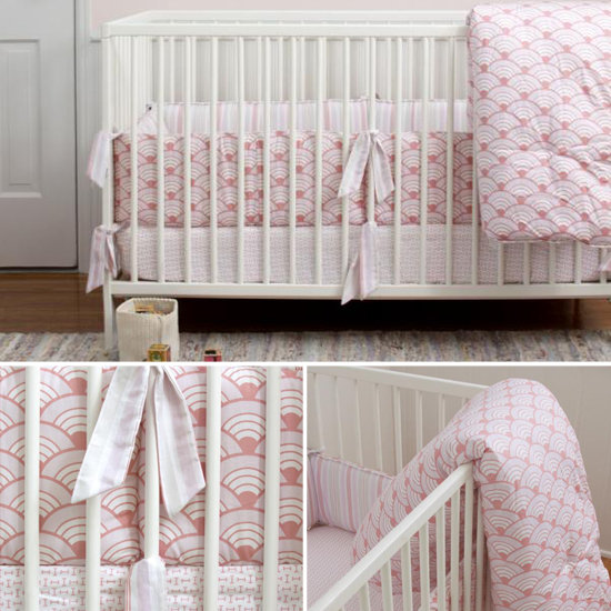 Annette Tatum Wave Crib Set ($280)