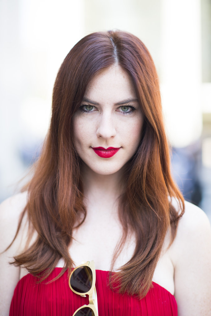 And who said redheads couldn't wear red lipstick? Photo by Le 21ème | Adam Katz Sinding