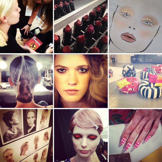 43 Instagram Shots From Backstage at Fashion Week