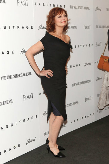 Susan Sarandon wore an LBD for her Arbitrage premiere in NYC.