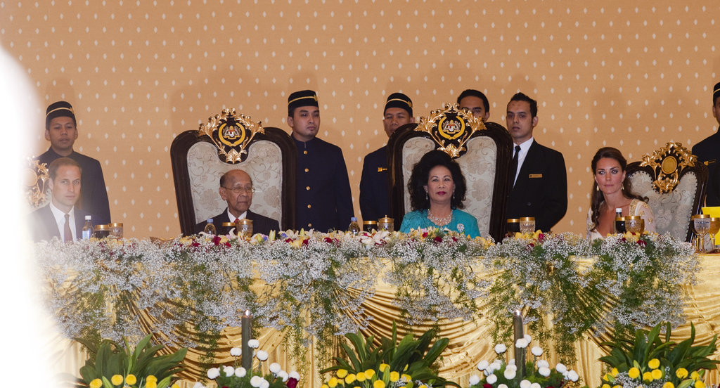 Kate Middleton Stuns in an Embroidered Gown For a Malaysian Gala