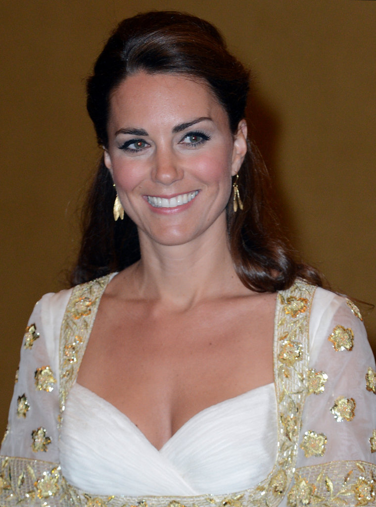 Kate Middleton was all smiles.