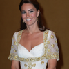 Kate Middleton In Malaysia In Alexander McQueen