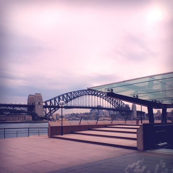 I had a coffee date to talk all things ghd and Dr. Lewinn's at Opera Kitchen. How bloody beautiful is this view?