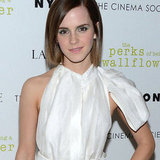 Emma Watson In white Dress At Perks Of Being A Wallflower Premiere