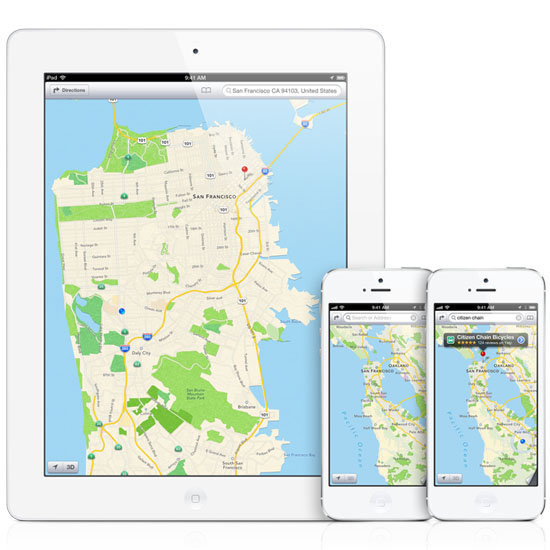 iPhone Maps Gets an Upgrade