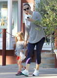Jennifer Garner and Seraphina Affleck Get a Cute Start to the Weekend