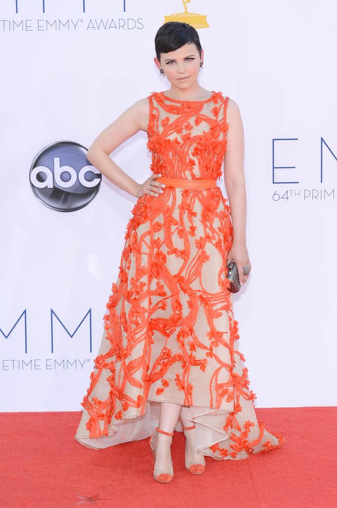 Once Upon a Time's Ginnifer Goodwin looked happily ever after on the red carpet.