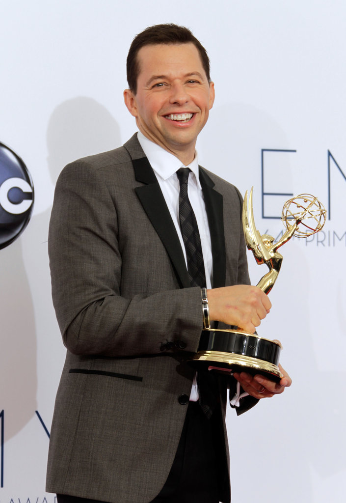 Two and a Half Men star Jon Cryer won the Emmy for outstanding lead actor in a comedy.