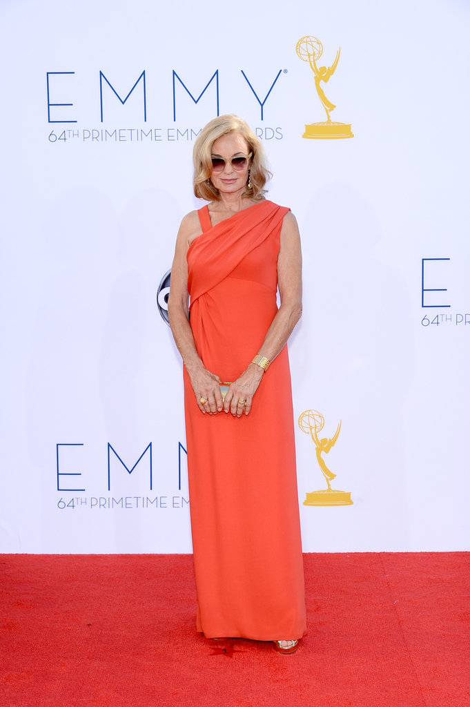 Jessica Lange won an Emmy for her role in American Horror Story.