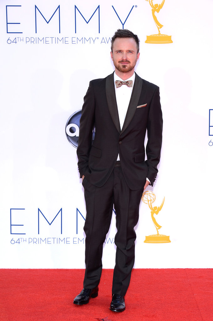 Breaking Bad's Aaron Paul won the Emmy for outstanding supporting actor in a drama.