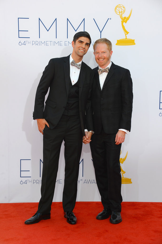 Modern Family's Jesse Tyler Ferguson took to the red carpet with his fiancé, Justin Mikita.