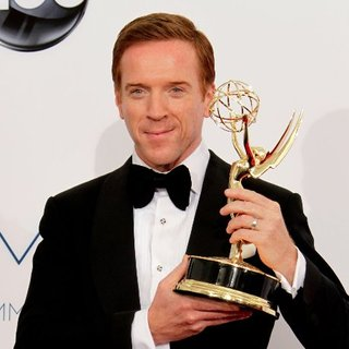 Damian Lewis Emmy Interview in Press Room