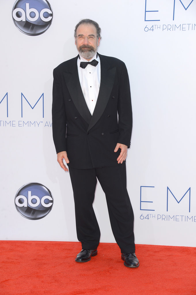 Homeland's Mandy Patinkin looked dapper on the red carpet.
