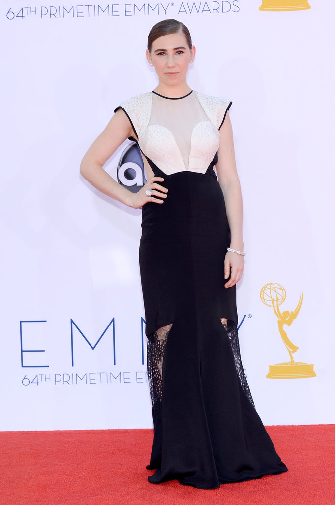 Zosia Mamet — who plays Shoshanna on Girls — looked sleek at the Emmys.