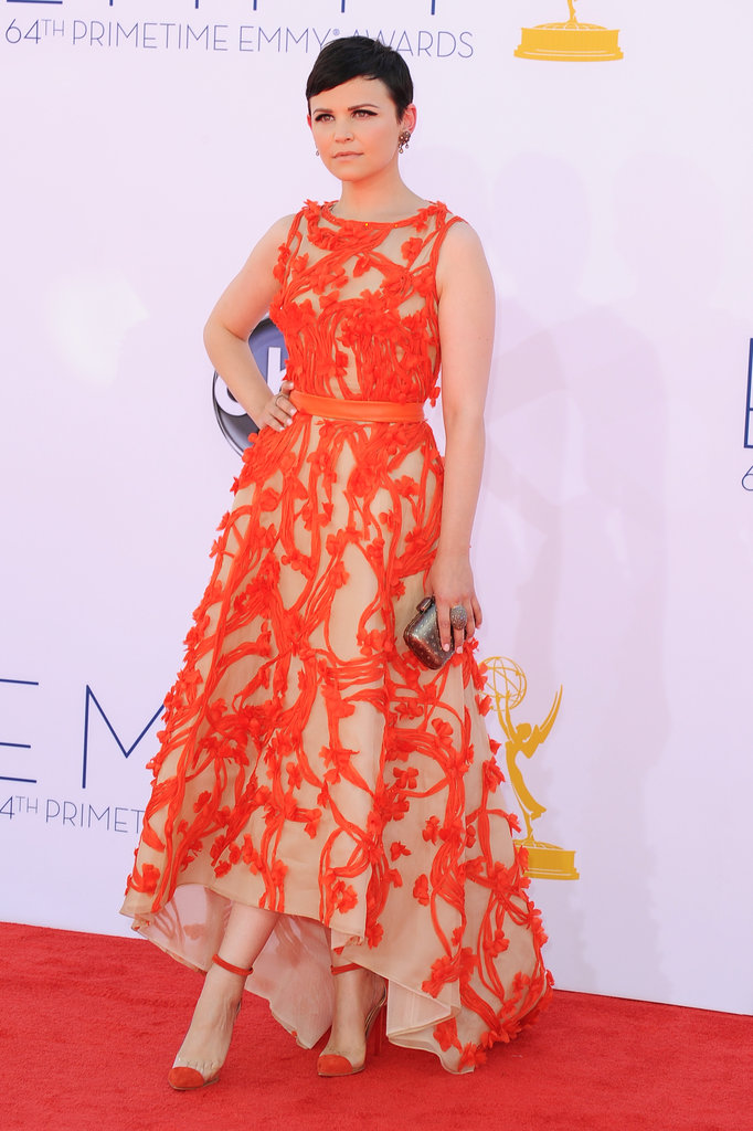 Ginnifer Goodwin stepped out for the Emmy Awards.