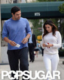 Eva Longoria Steps Out Hand in Hand With Mark Sanchez