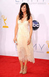 Kristen Wiig Floats Down the Emmys Red Carpet in Balenciaga