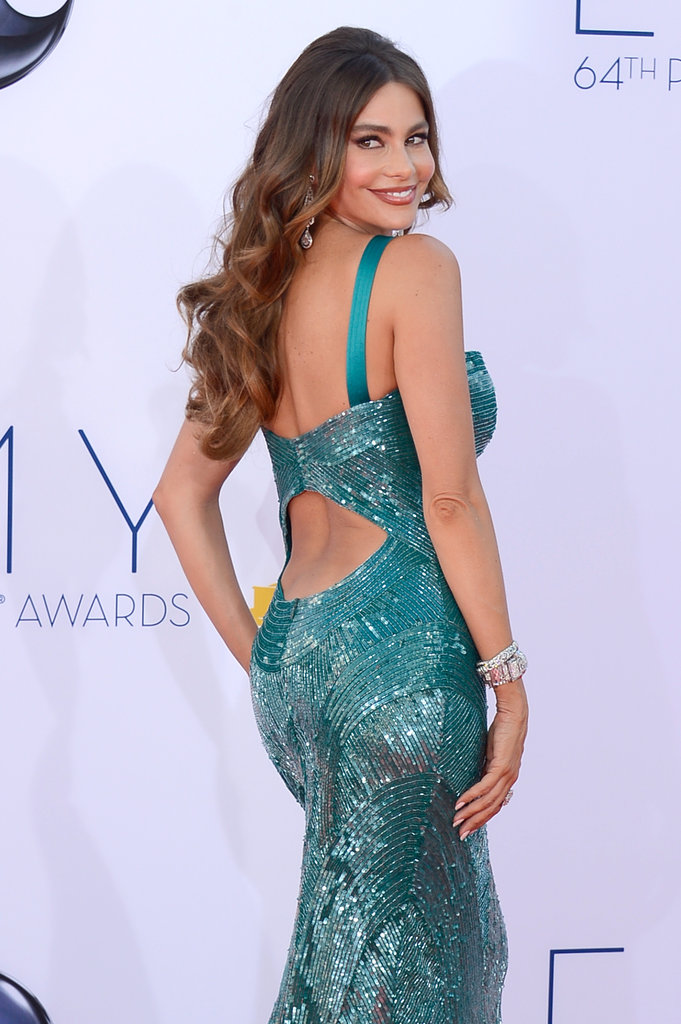 Sofia Vergara Hits the Red Carpet Ready to See If Third Time's a Charm